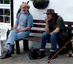 Willy Nelson & Friend at The Horseshoe Inn